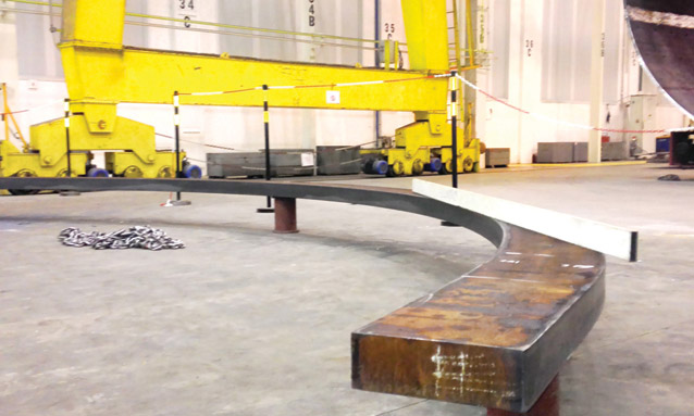 Image of Heavy duty section bending rolls MAH1000 for Metallic structures