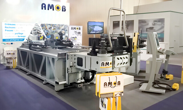 Img - AMOB Stand at Industrie Lyon 2017