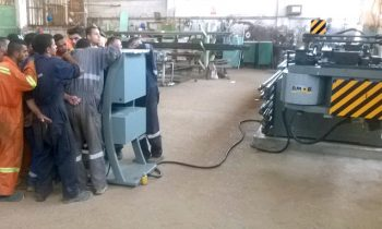 Img - CNC Pipe Bender Installation at Egypt