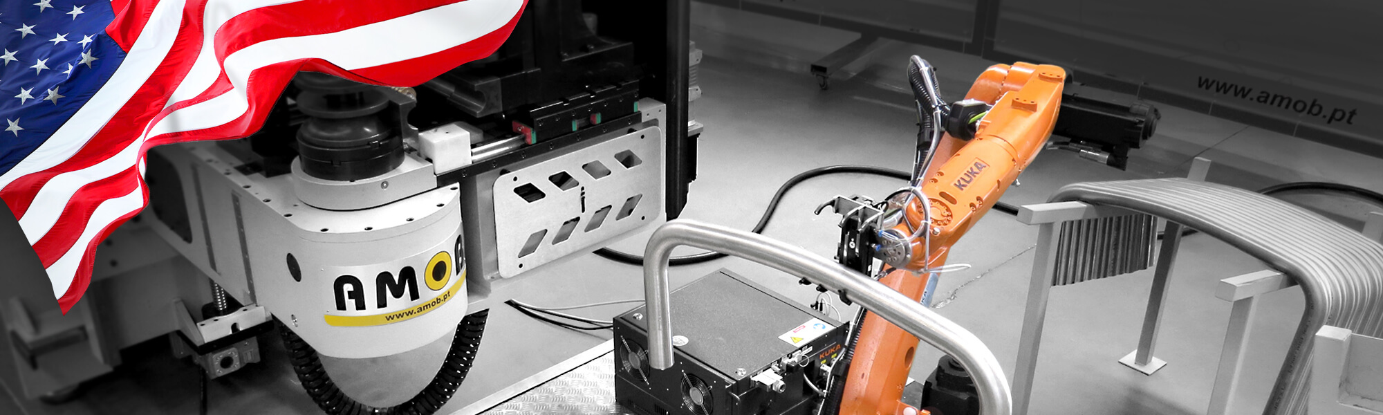 Image of FULLY ELECTRIC CNC TUBE BENDER