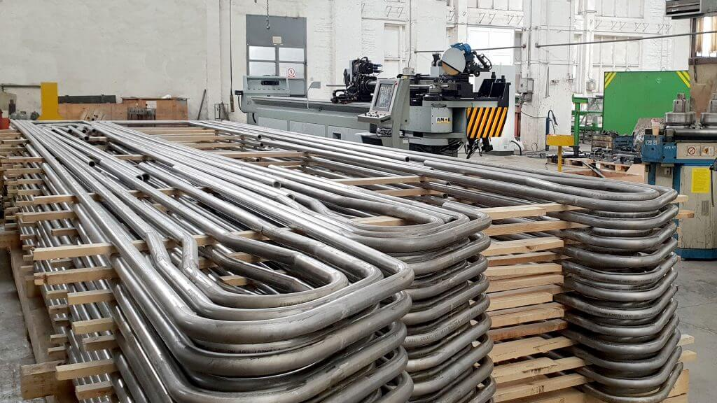 Image of Boiler Tube Bending Machine - Boiler application