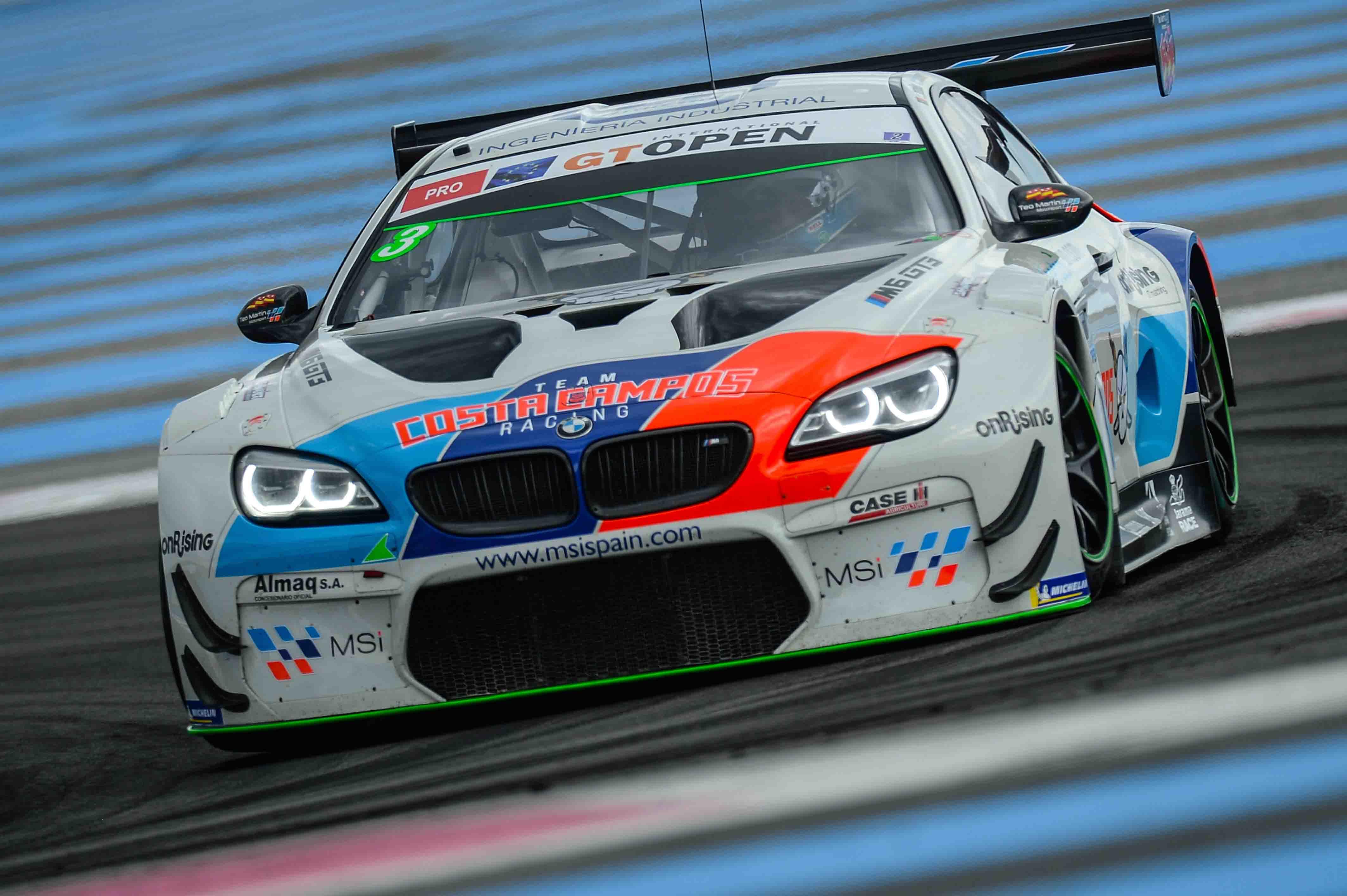 Imagem da Teo Martin Motorsport Team