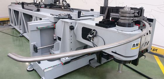 Fully-Electric-CNC-Tube-Bender-