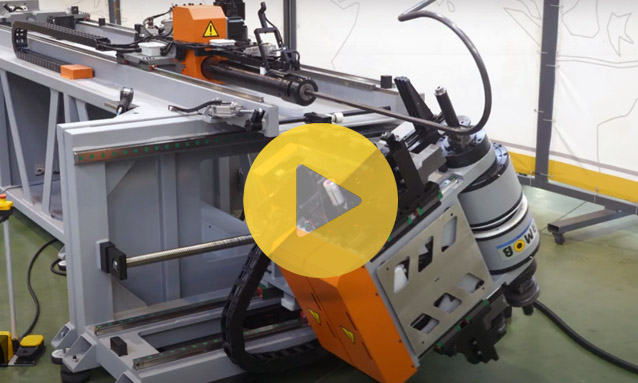 Right and Left Fully Electric CNC Tube Bender – The eMOB Series