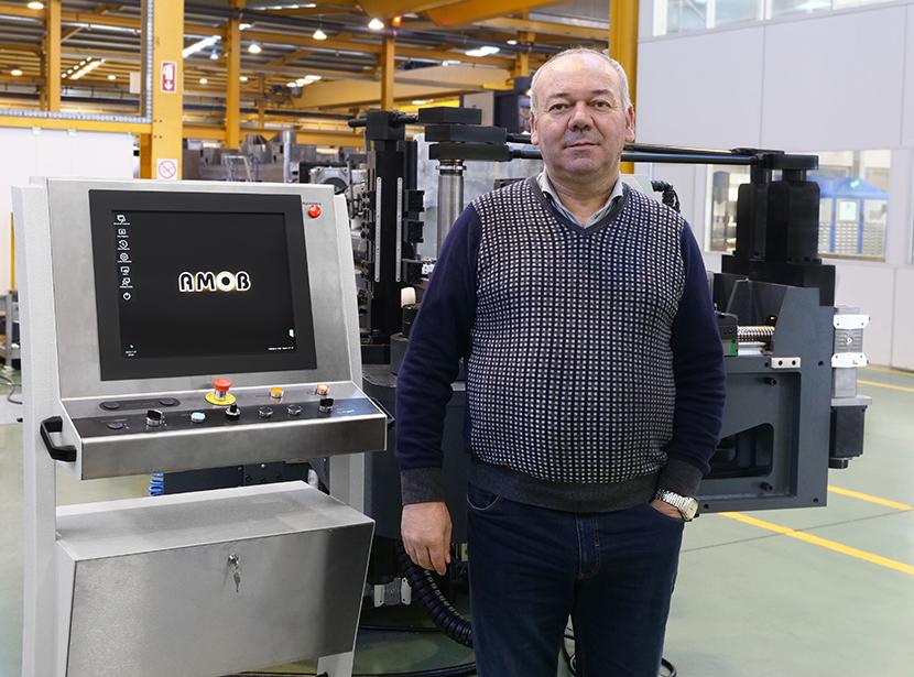 Manuel Barros CEO da AMOB