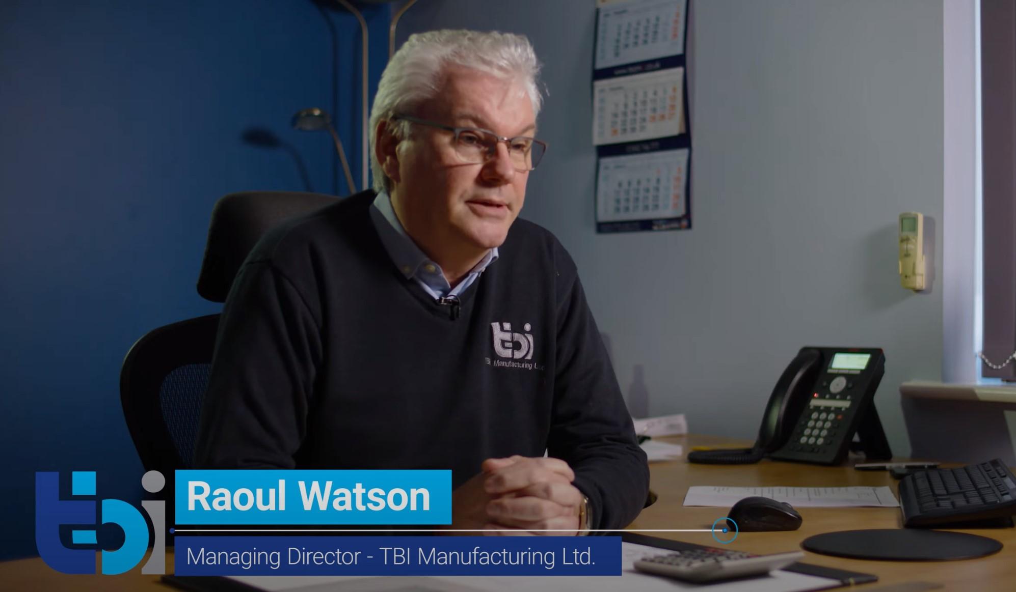 Curvadoras de tubo AMOB - Raoul Watson - Diretor Geral da TBI