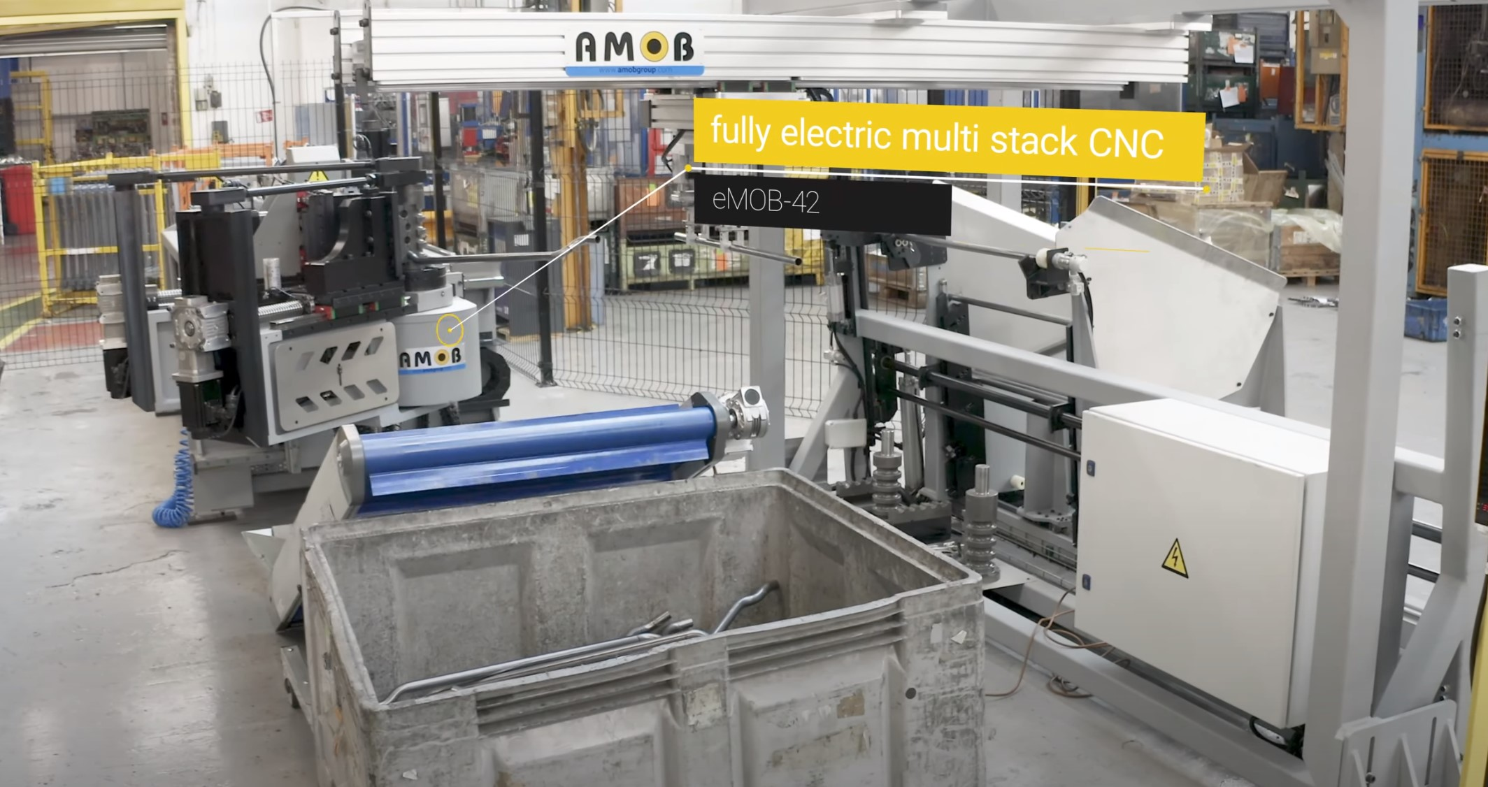 tube bending machine multi stack CNC